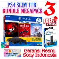 PS4 Slim 1Tb CUH-2218B Bundle Megapack 3