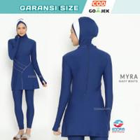 Baju Renang Wanita Muslim Muslimah Panjang Hijab Edorssport Myra