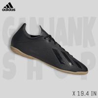 ADIDAS X 19.4 IN Core Black Sepatu Futsal Pria 100% Original BNIB