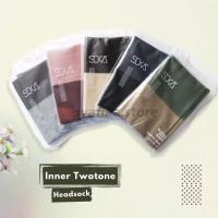 Inner Bandana / Ciput Bandana Two Tone SOKA - Essentials Hijab SOKA