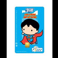 Kartu Flazz Limited Edition Justice League Superman 2021 Berlogo Baru