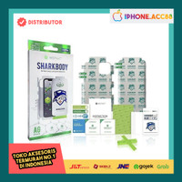 Antigores tempered glass Iphone Sharkbody 7 8 SE X 11 12 hydrogel Full - Iphone 12/12Pro, HD(bening)