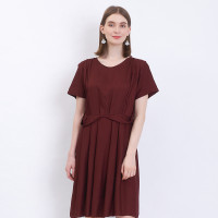 Aksa Batik Dress Daily Wear Arumi - M