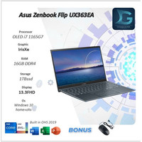 Asus Zenbook Flip S UX371EA 2IN1 TOUCH 4K i7 1165G7 16GB 1Tb SSD WIN10