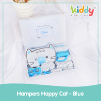 Kiddy Baby Hampers/ Baby Set - Happy Cat Blue - 1207