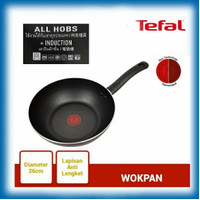 WOK PAN 26 cm TEFAL Day By Day (INDUCTION HEATING)