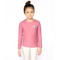 Lee Vierra Kids Kana Surf Swimwear Anak - Atasan Renang Mauve Wood - 2
