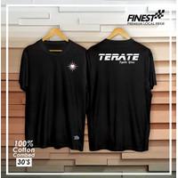 Kaos Baju Tshirt Pencaksilat PSHT TERATE Warna hitam cotton combed30s