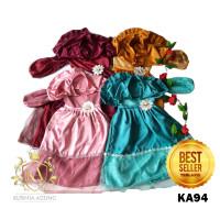 Baju Muslim Anak Perempuan 2-12 tahun Model KA94