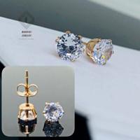Anting Tusuk Titanium Diamond/MJ/ Fashion Korea/ Untuk Wanita