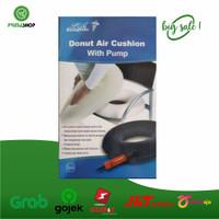 Bantal Donut Air Cushion with Pump/Bantal utk Ambeien