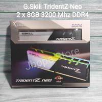 RAM Gskill DDR4 TridentZ Neo RGB PC25600 16GB (2x8GB) DDR4 3200Mhz