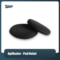 Applicator Pad / Busa Aplikator / Spon Poles Mobil Motor - Hitam
