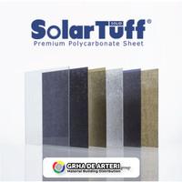 POLYCARBONATE SOLARTUFF SOLID Plain tebal 1,2mm - Clear