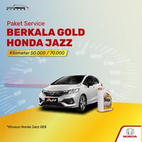 Paket Service Berkala GOLD Honda Jazz 50K/70K