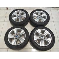 Jual Velg Bekas Mobil STD BMW + BAN MIC 225 55 R17 (70%)