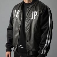 BOMBER Jaket Fashion LiveFit JK-02 - Hitam, M