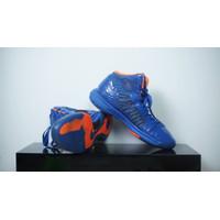 Sepatu NIKE LEBRON LUNAR 10 HYPERDUNK X ORANGE BLUE