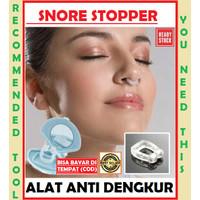 SNORE STOPPER/ALAT ANTI NGOROK/ANTI DENGKUR/STOP NGOROK