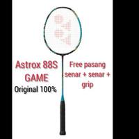 RAKET BADMINTON YONEX ASTROX 88S GAME (NEW) ORIGINAL FREE SENAR + GRIP