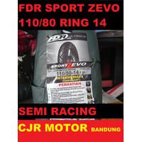 Baru Ban Tubeless FDR Sport Zevo 110/80 ring 14 motor Vario Aerox PCX