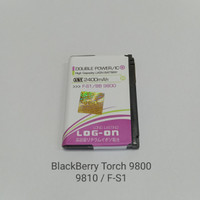 Baterai BlackBerry Torch 9800 9810 FS1 log on Bb batre batteray batrei