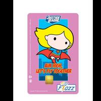 Kartu Flazz Limited Edition Justice League Supergirl 2021 Berlogo Baru