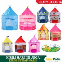 Tenda Anak Castle Jumbo Size 135x85x105 CM MA01 - Biru Bintang