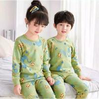 Baju tidur anak - baju kekinian - setelan anak panjang 1-9tahun M-VIN