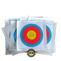 TARGET FACE FITA INDOOR 40cm 5 RING - Refill Latihan Harian Panahan