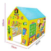 Mainan Anak Tenda Sekolah Rumah Edukasi Anak 2 3 4 5 6 Tahun TK SD