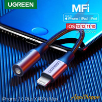 Ugreen MFI Lightning Cable Jack AUX 3.5mm iPhone 7 8 Plus X XR XsMax