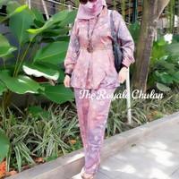 Baju Set Jumputan 6 Modern Asli Palembang