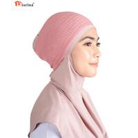 Nisrina Fashion Muslim Bando Rajut Polos