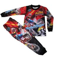 Baju motocross anak lengan panjang/Baju MTB anak anak/Baju trail anak
