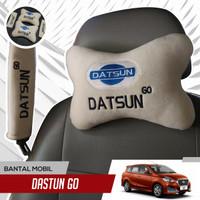 bantal mobil leher set Datsun Go-2 Bantal Dan 2 headrest