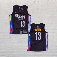 Baju Jersey Basket Swingman NBA James Harden BrooklynNets City Edition
