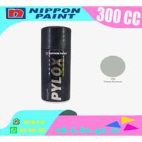 300cc 1758 Chrome Aluminium Pylox Cat Semprot NIPPON PAINT