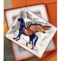 luxury tray ashtray unicorn blue