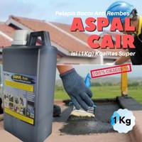 Cat Anti Rembes Pelapis Atap Dak Lantai / Aspal Cair Premium