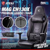 MSI MAG CH130X Gaming Chair / Kursi Gaming