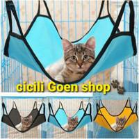 Ayunan kucing cat hammock tempat tidur gantung kandang hewan pet cage