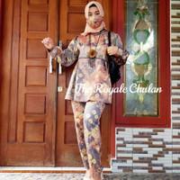 Baju Set Jumputan 1 Modern Asli Palembang