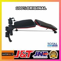adjustable bench gym total fitnes(original)bangku multipungsi-bench
