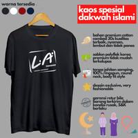 Baju Kaos Dakwah Islami Distro Plesetan La Tahzan Muslim Murah Keren