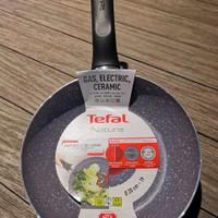 Tefal Frying Pan Natura 20cm Free Spatula / Wajan Teflon