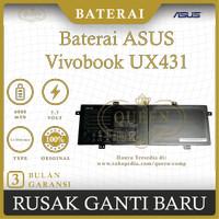 BATERAI LAPTOP ASUS Vivobook UX431 UX431FA UX431FN C21N1833 ORIGINAL