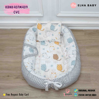 🌸BeeL shop🌸 Baby Nest Kasur Bayi Perahu Kelambu Kasur Bayi Kolam