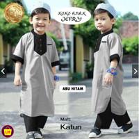 Stelan Koko Anak JEFRI Stelan Jubah anak Baju Koko Trendy Baju Lebaran