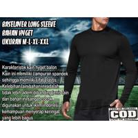 PROMO SALE !!! Baju Kaos Manset Olahraga Pria Lengan Panjang